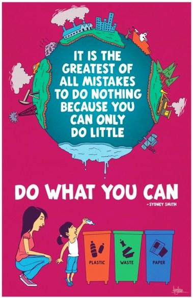 33 Contoh Poster Adiwiyata Go Green Lingkungan Hidup Hijau - save-earth-campaign