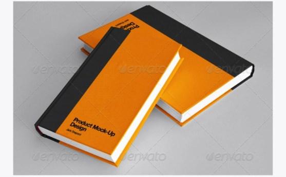 Contoh dan Template Desain Kover Buku Download PSD 05