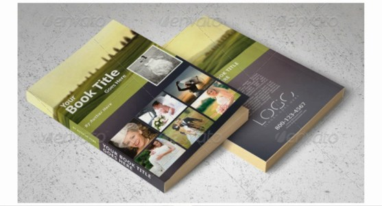 Contoh dan Template Desain Kover Buku Download PSD 11