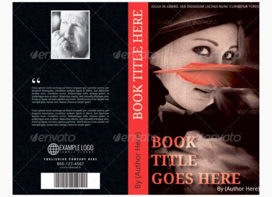 Contoh dan Template Desain Kover Buku Download PSD 12