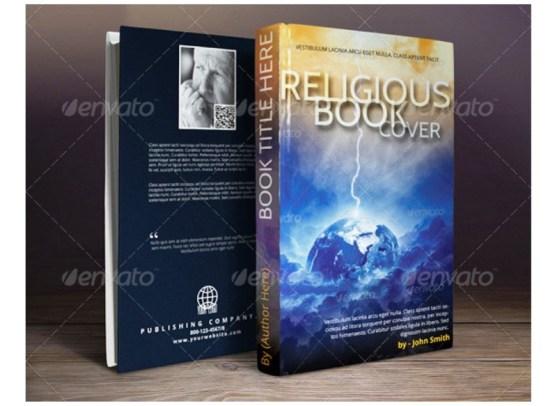 Contoh dan Template Desain Kover Buku Download PSD 13