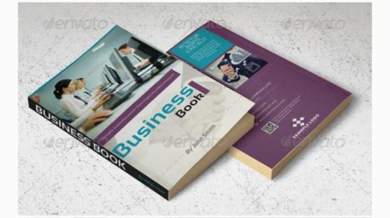 Contoh dan Template Desain Kover Buku Download PSD 21