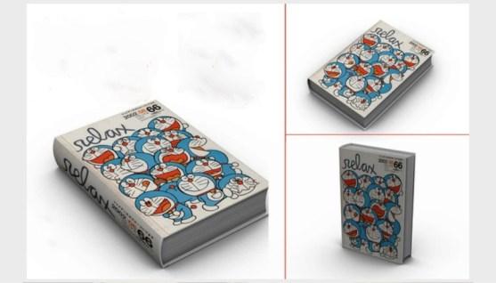 Contoh dan Template Desain Kover Buku Download PSD 29