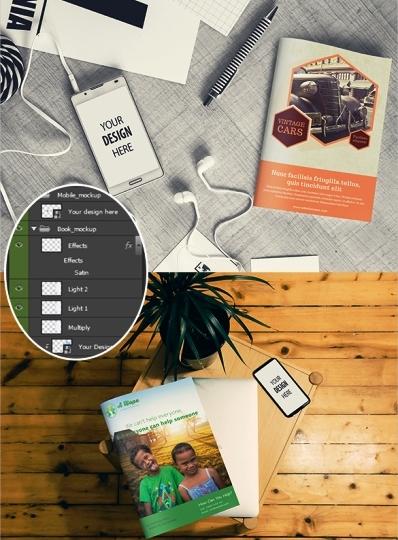Contoh dan Template Desain Kover Buku Download PSD 36