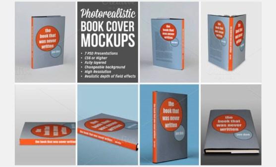 Contoh dan Template Desain Kover Buku Download PSD 42