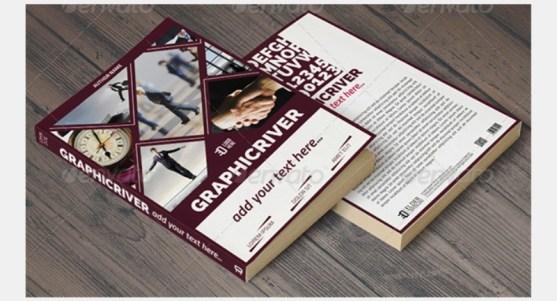 Contoh dan Template Desain Kover Buku Download PSD 51