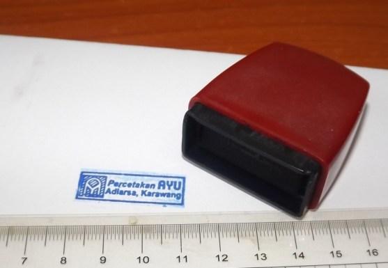 Stempel Otomatis Multi Warna Produk Percetakan Ayu Karawang - Stempel Otomatis DSCF2377