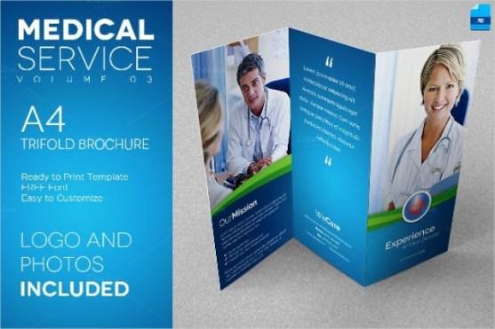 Brosur Medis Kesehatan Klinik dan Rumah Sakit