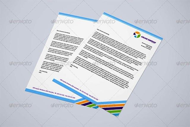 Contoh Desain Kop Surat Gratis Download Template 06
