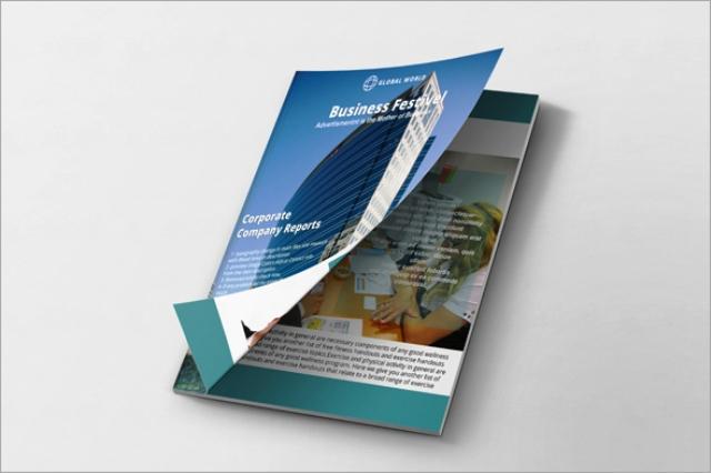 Brosur Perusahaan Konstruksi