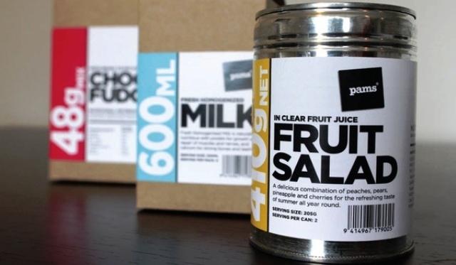 9 Contoh Desain Label Minimalis Branding Produk Retail Eceran