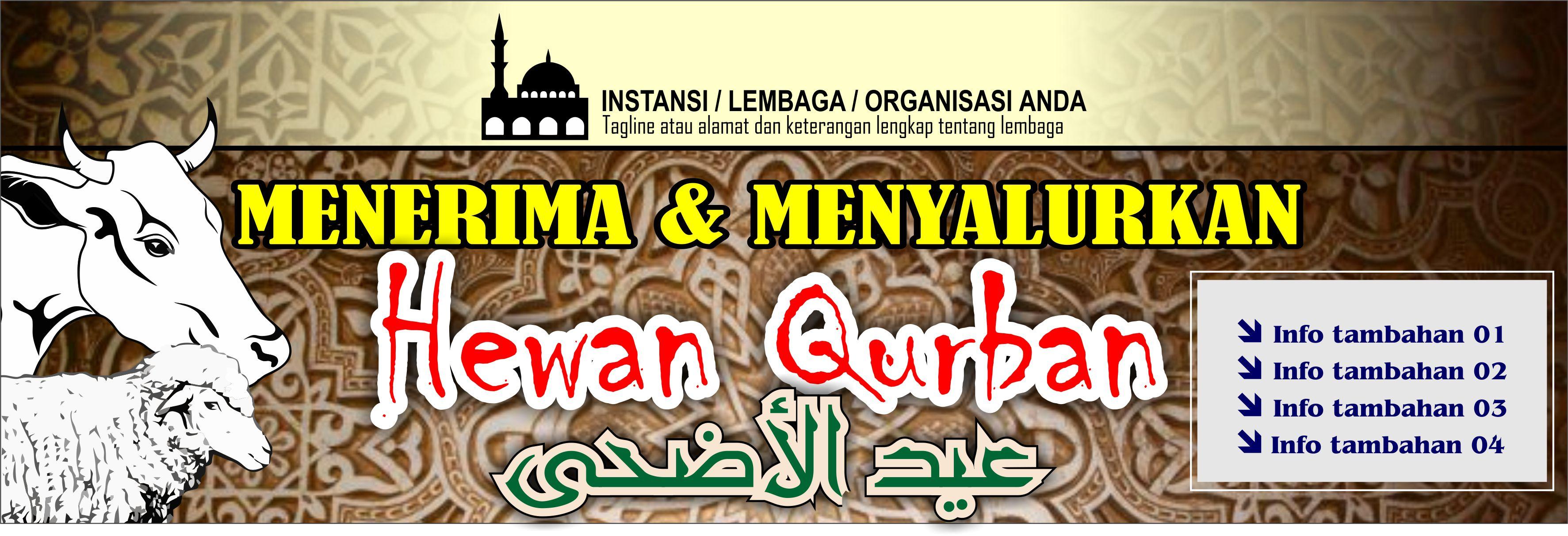 Banner Spanduk Qurban Iedul Adha 1437 2016 Free Download