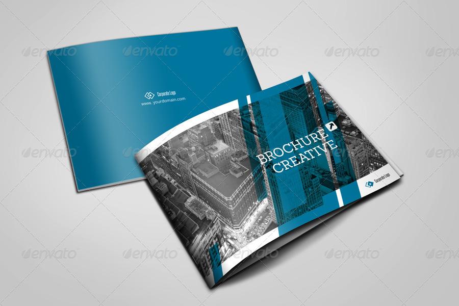 33 Contoh Desain Brosur dan Leaflet Bisnis Desain Terbaik dari Graphicriver