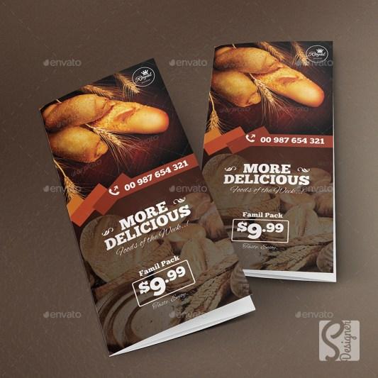 Contoh brosur makanan dan 5 keunggulan promosi dengan media brosur
