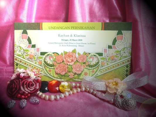 Undangan Pernikahan iCard Wedding Invitation