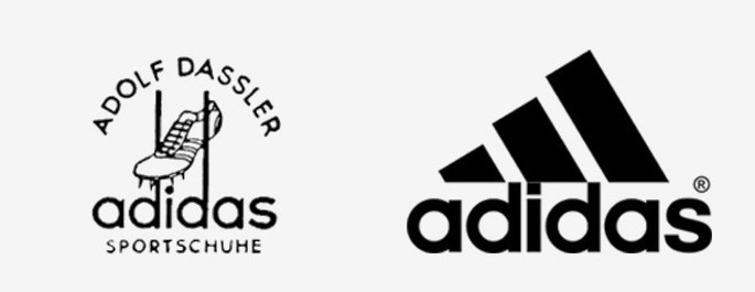 Logo merk terkenal dulu dan sekarang