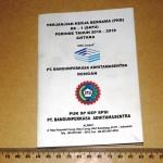 Buku PKB Perjanjian Kerja Bersama Industri