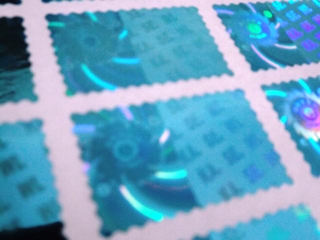 Contoh Product Sticker Hologram