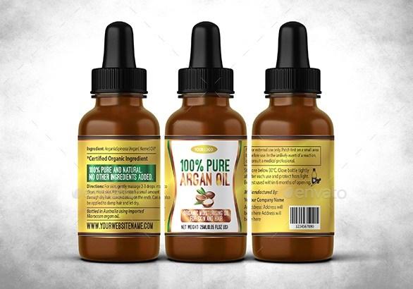 15 Contoh Desain Botol dan Label Merk Free Premium Download