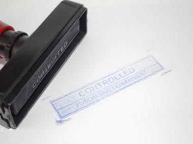 Stempel Otomatis Banyak Warna Tanpa Bak Tinta