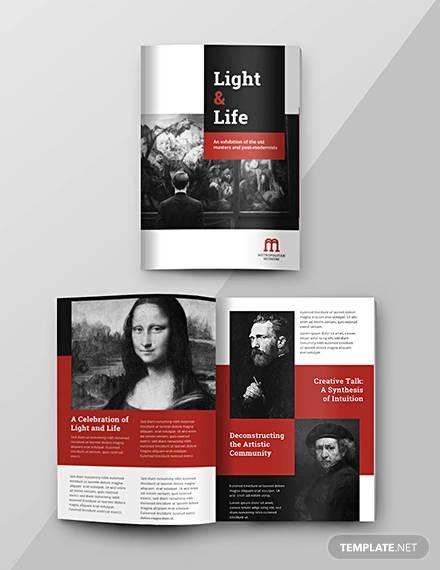 Contoh Desain Template Katalog