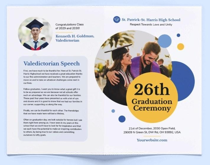 Template Brosur Pendidikan Gratis