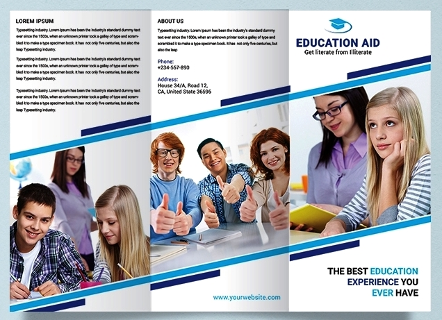 Template Brosur Pendidikan