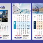 DOWNLOAD KALENDER 2020 TEMPLATE VECTOR