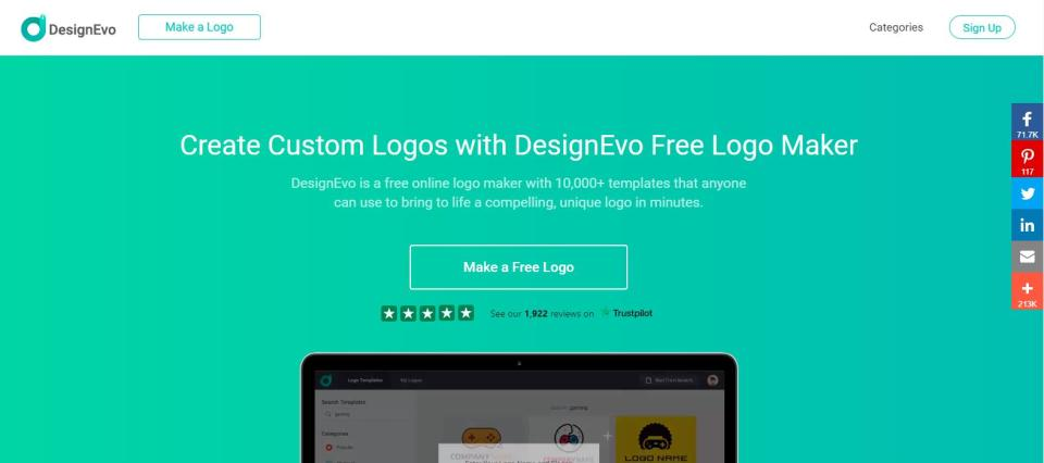 Logo Design For Free And Easy On All Platforms