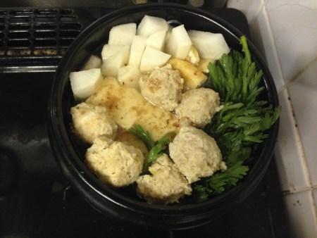 鶏団子鍋の作り方