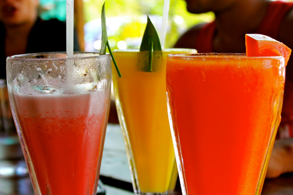 Fruit Juices Image source - https://www.flickr.com/photos/129445997@N02/15927829838/sizes/l