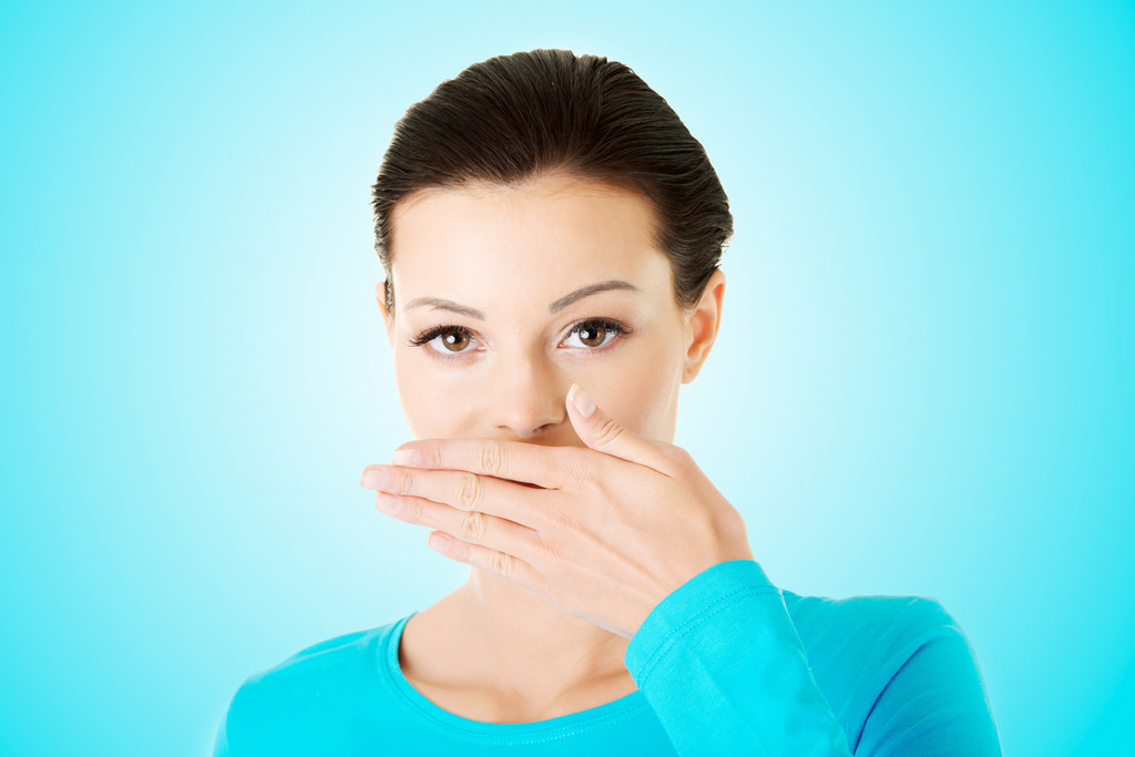 Bad mouth Odor Image source -- https://www.flickr.com/photos/wearandcheer/16441961661/sizes/l