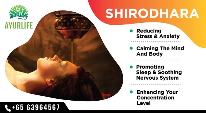 Shirodhara Procedure
