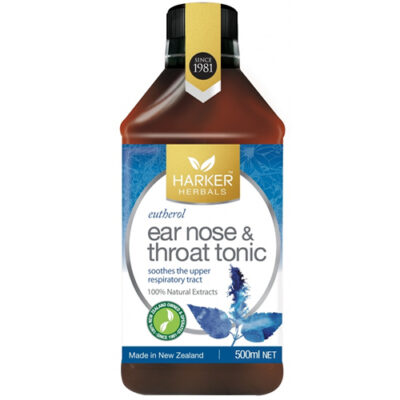 Ear, Nose & Throat Tonic (Eutherol) 500ml - SKU MHENT500