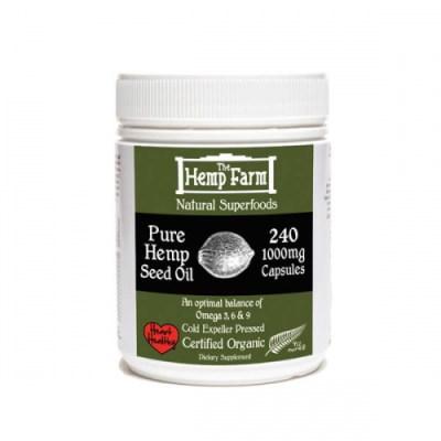 Hemp Farm Hemp Seed Oil 240 capsules - SKU HFCAP240