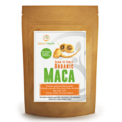 Organic Yellow Maca 500g by Seleno Health