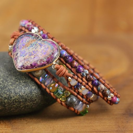 Bracelet Amour Coloré Bohème Chic