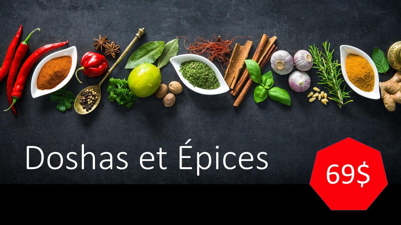 Doshas et Épices