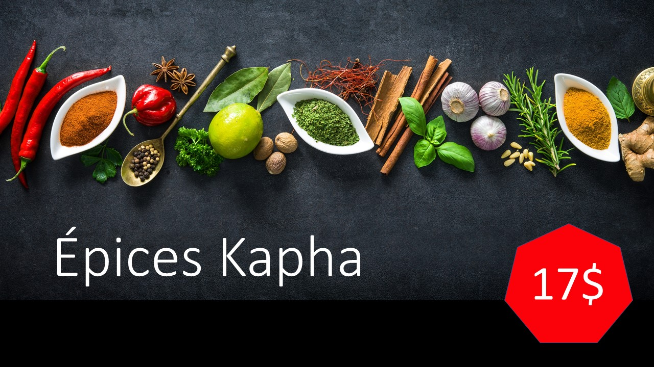 Épices Kapha