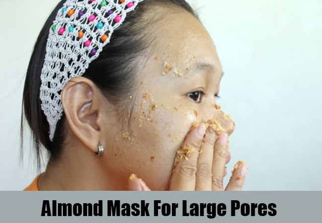 Almond Mask For Large Pores