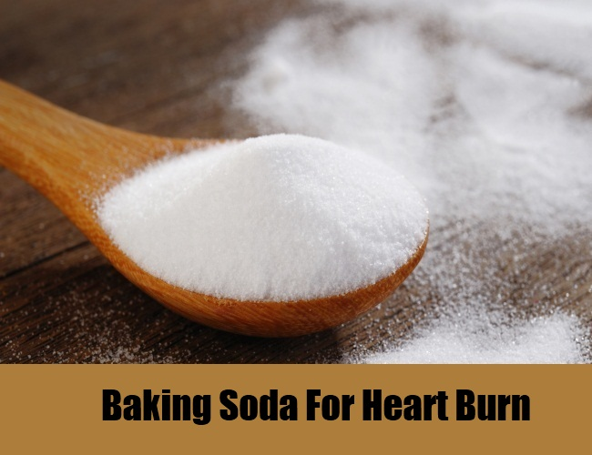 Baking Soda For Heart Burn