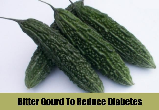 Bitter Gourd To Reduce Diabetes