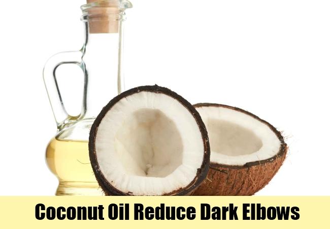 Coconut Oil Reduce Dark Elbows