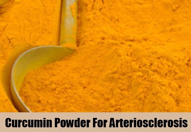 Curcumin Powder For Arteriosclerosis
