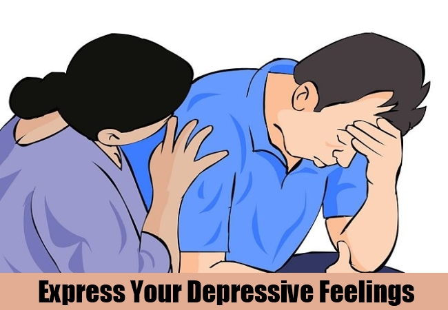 Express Your Depressive Feelings