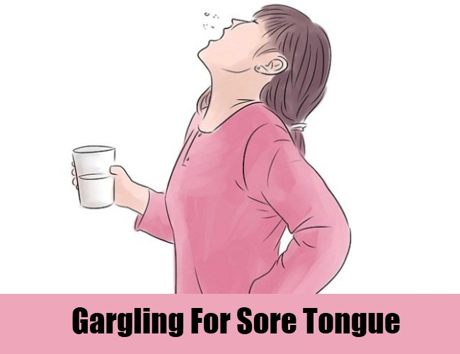 Gargling For Sore Tongue