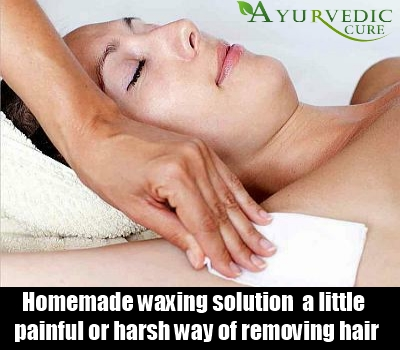 Homemade Waxing solution