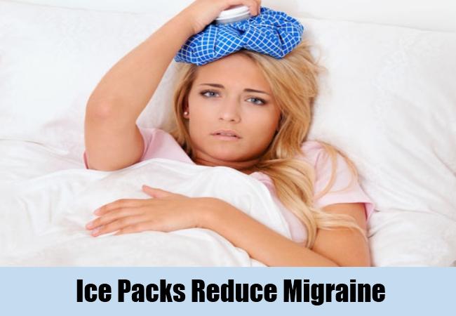 Ice Packs Reduce Migraine