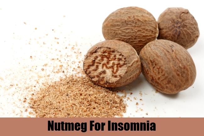 Nutmeg For Insomnia