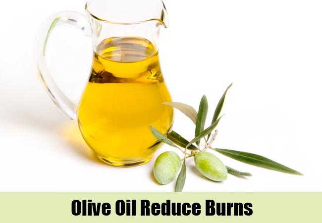 Olive Oil Reduce Burns